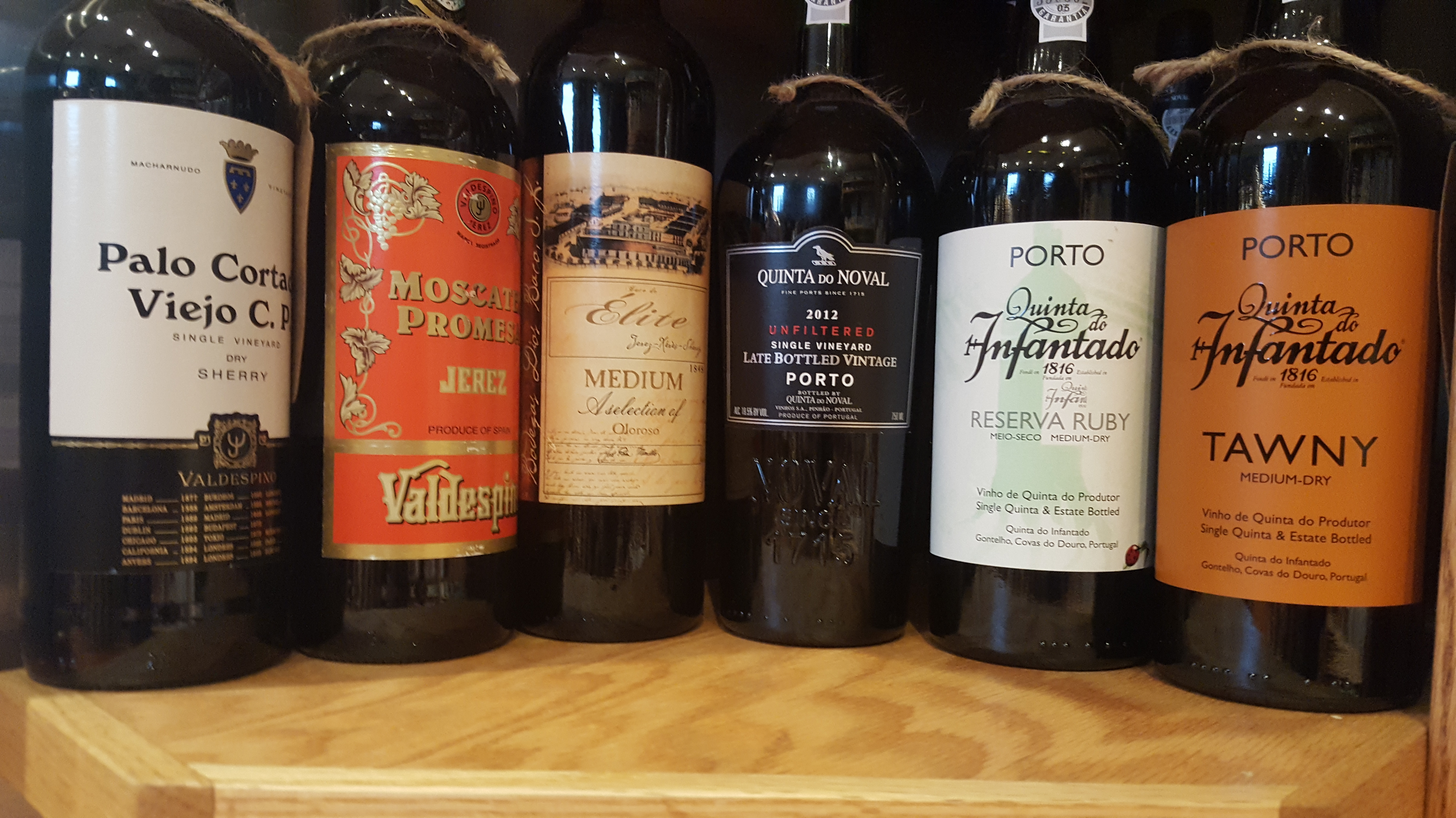 Sherry, Port, Madiera