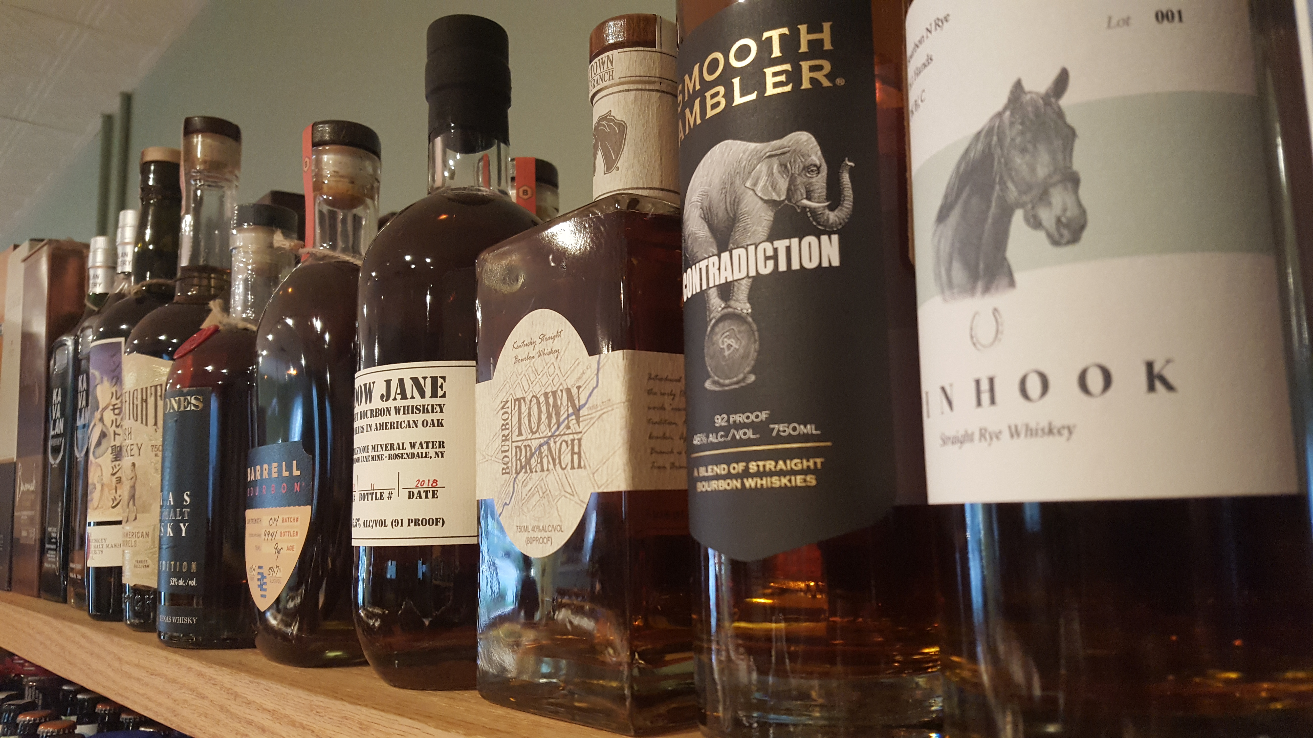 Bourbon, Rye