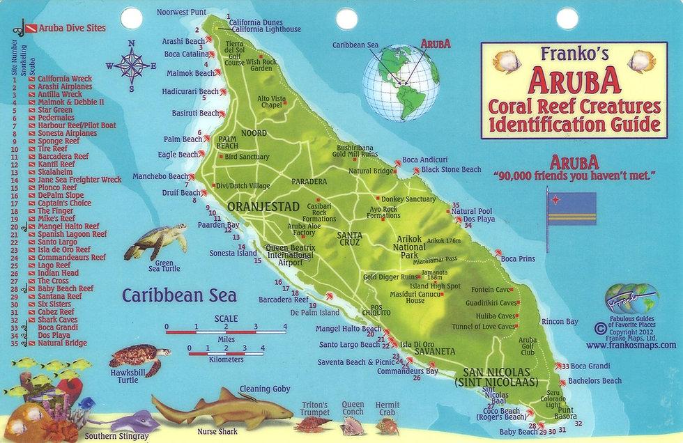Aruba's Dive Sites