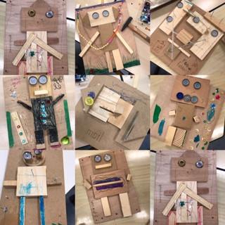 houten klaasjes