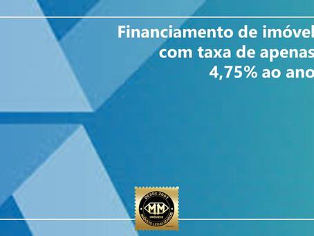 A nova linha, indexada à remuneração da poupança, estará disponível a partir do dia 1° de março.
