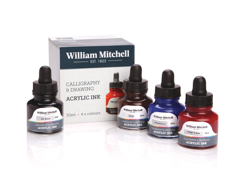 William Mitchell Inks