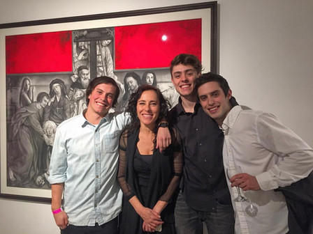 """Título de la exposición:   """"En Presencia"""" de Paula Lynch"""