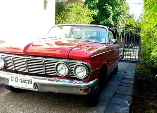 Mercury Comet Coupe 1963