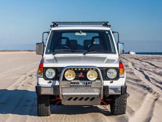 """Se subasta uno de los pocos """" Mitsubishi Montero Paris Dakar Special"""" que quedan disponibl"""