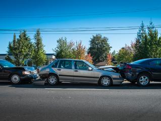 ¿Qué debes hacer si sufres un accidente en cadena?