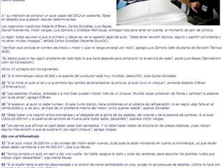 """""""Las Ultimas Noticias"""" nos pide consejos para comprar autos usados"""