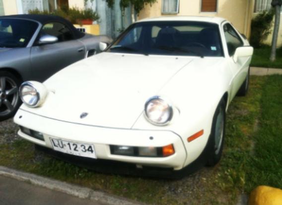 Porsche 928 S 1984
