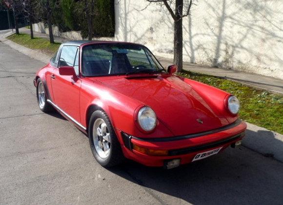 PORSCHE 911 SC TARGA 1981