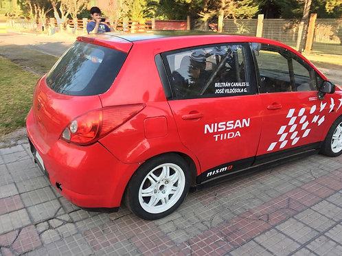 Nissan Tida 1600 Preparado