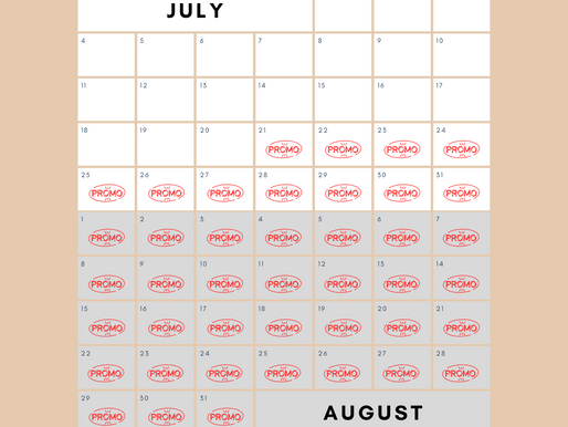 One Long Promotion (July-August 2021)