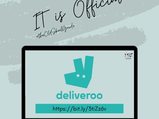 The Old Skool is on Deliveroo! #DeliverooStore