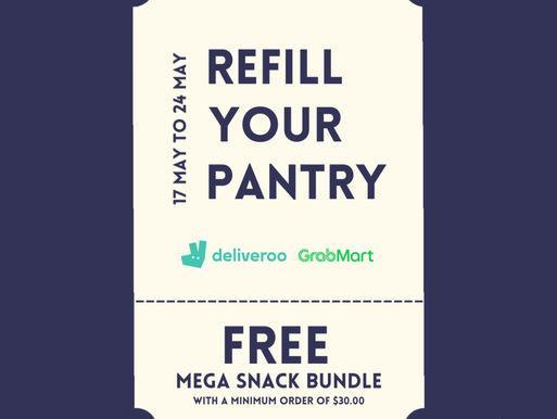 Free Mega Snack Bundle On Us!