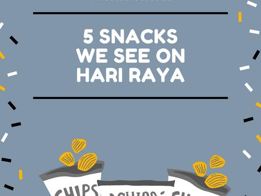 5 Snacks We See During Hari Raya