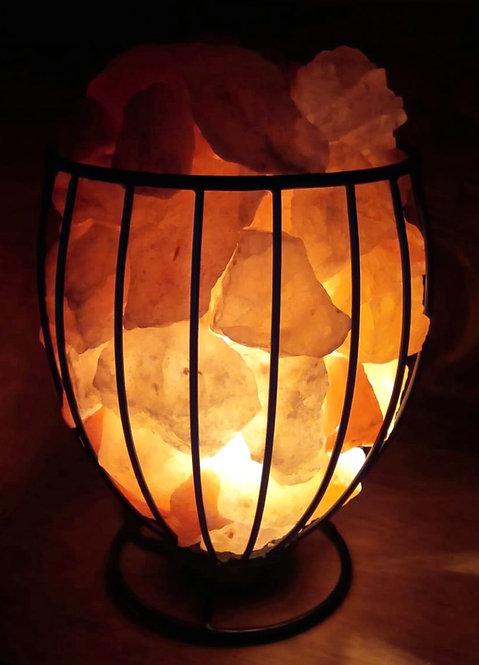Lámpara canasta OVAL de la abundancia (Metálica)