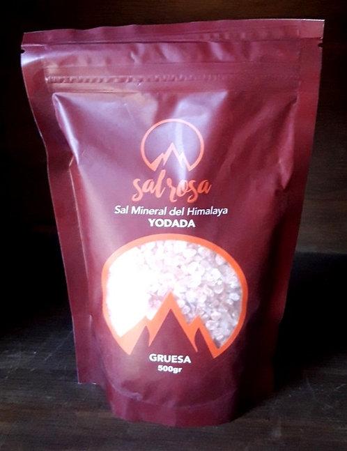 Doy pack sal rosada del Himalaya NATURAL con YODO adicional 500 g.