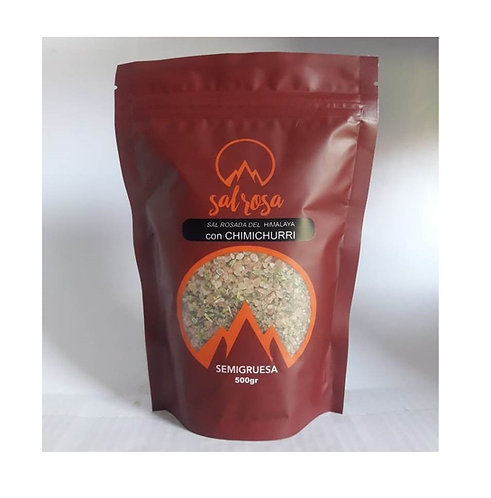 Doy Pack con sal del Himalaya con CHIMICHURRI 500 g