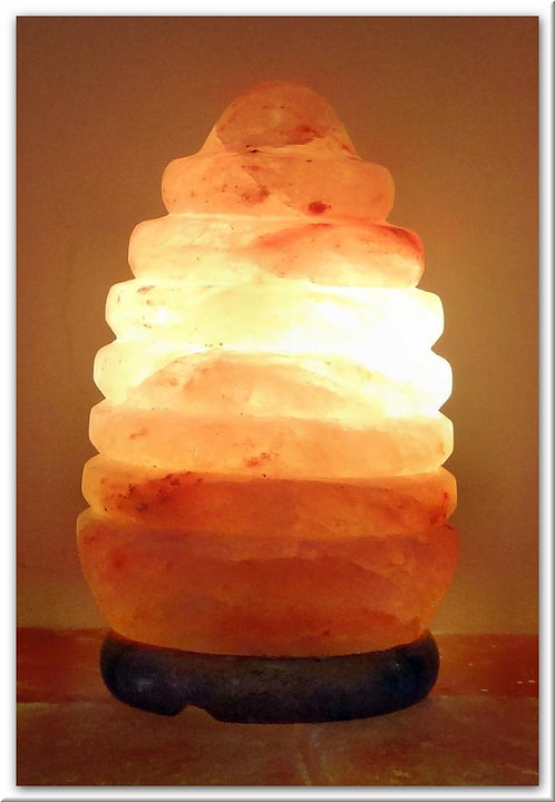 Lámpara Farolito. Sal Rosada del Himalaya
