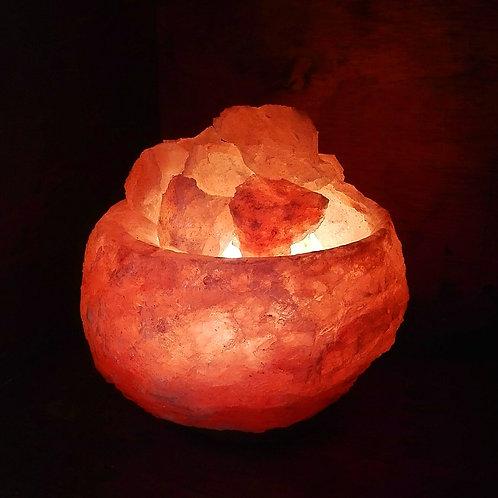 Lámpara fuente de la abundancia rústica 15 cm
