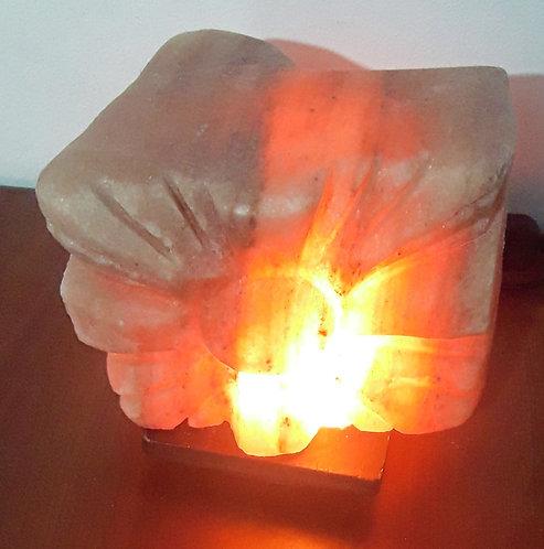 Lámpara SOL para aromaterapia .  Tallada a Mano.