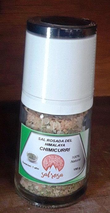 Molinillo Premium con sal del Himalaya y CHIMICHURRI 150 gr