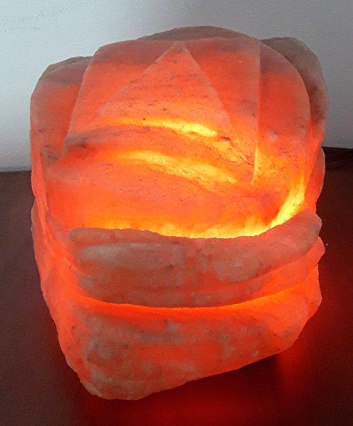 Lámpara FIGURAS GEOMETRICAS para aromaterapia .  Tallada a Mano.