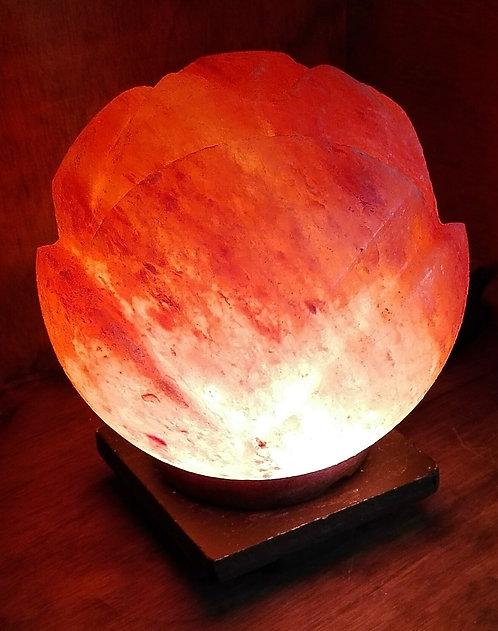 Lámpara rosa redonda  15 cm
