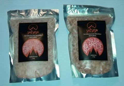 Pack 2 unidades: Doy pack sal rosada del Himalaya NATURAL 1 kg.