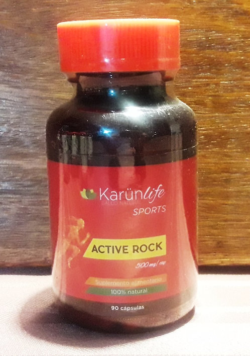 ACTIVE ROCK 90 Cápsulas 500 mg