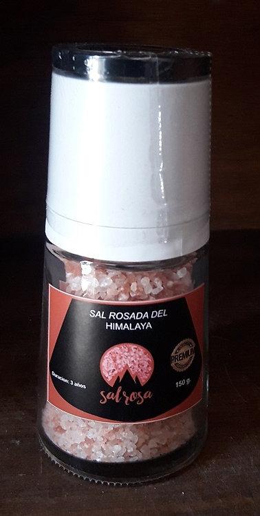 Molinillo Premium con sal rosada del Himalaya 150 gr