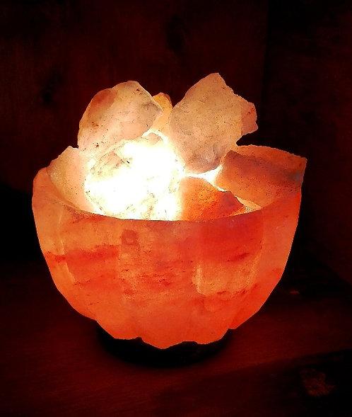 Lámpara fuente de la abundancia tallada M 15 cm