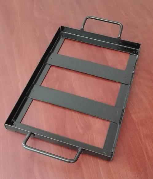 Bandeja de metal 30x20 cm (para tablas de sal)