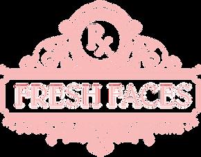 Fresh Faces pink logo
