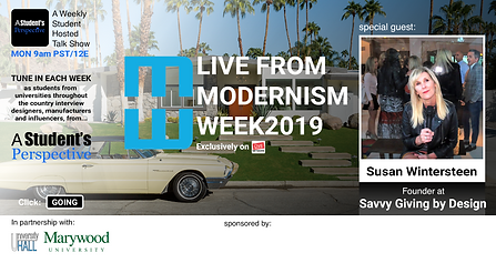 ASP - Modernism Week - Savvy Giving by D