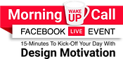 DRC - Morning Wake Up Call Logo - with T