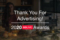 2020 Go LIVE Awards - Thank you For Adve