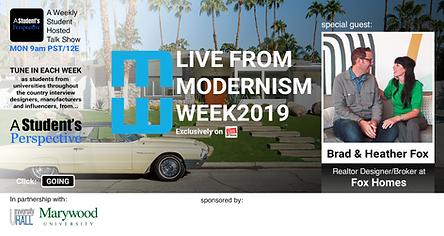 ASP - Modernism Week - Fox Homes - FB Ev