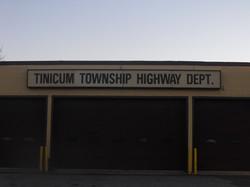 Tinicum Township Highway Dept