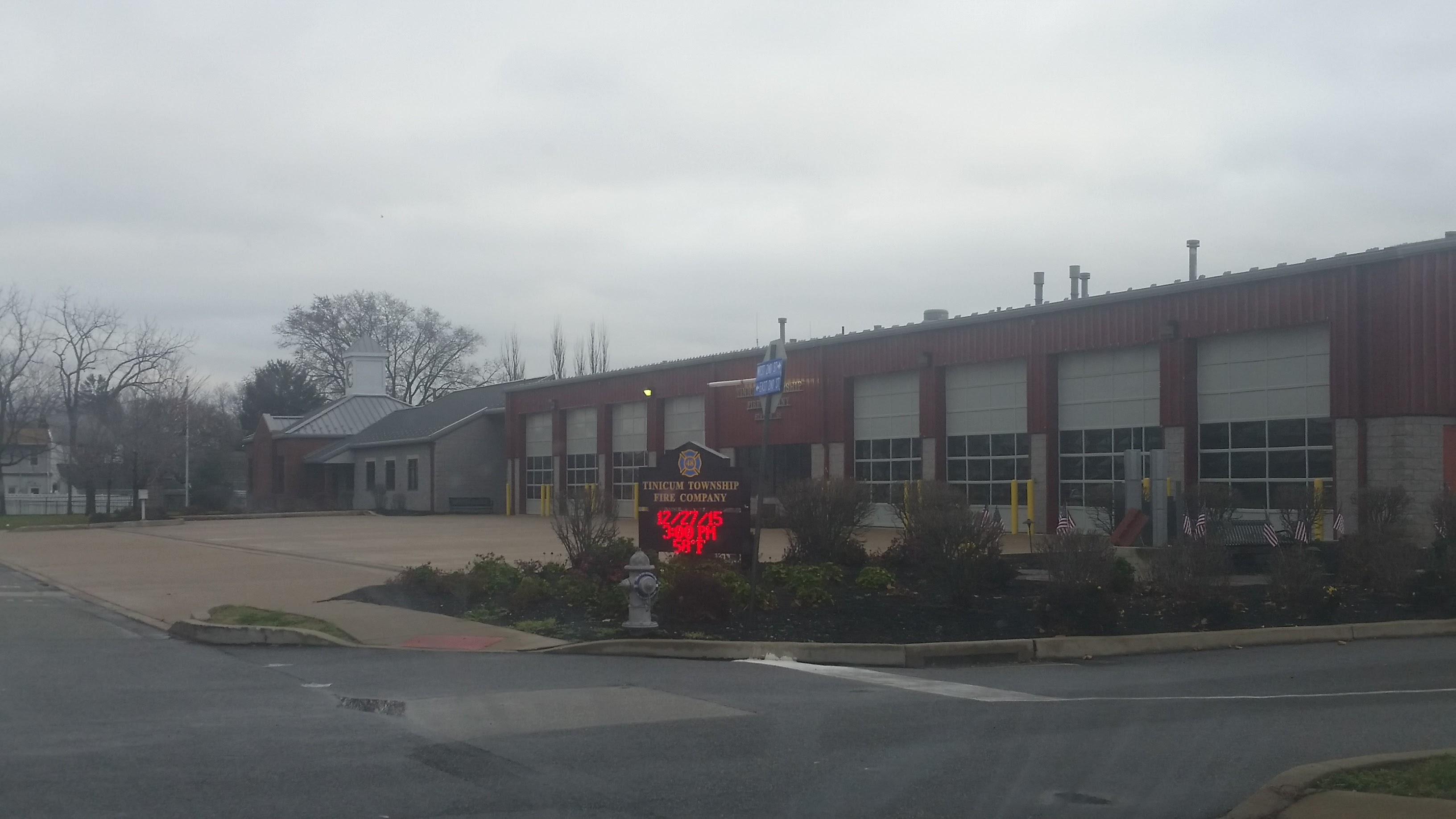 Tinicum Fire Station