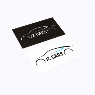 Spot UV Business Cards for JZ Cars.
