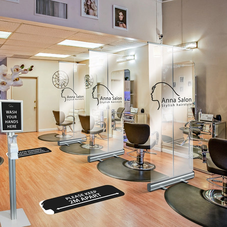 What will salons and spas need to do to re-open safely?
