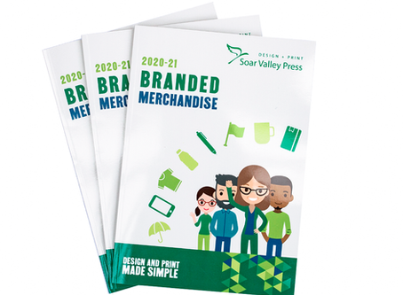 The secret is out: Our brand new Promotional Merchandise Brochure is here!