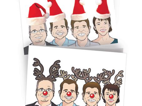 Christmas Card vs E-Card