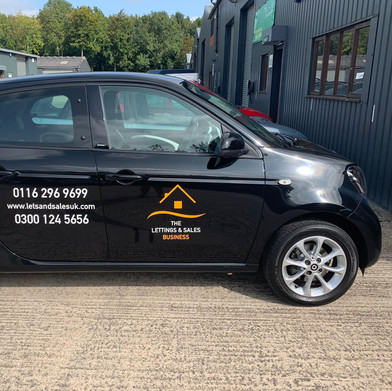 Van Livery for the Lettings and Sales Business.