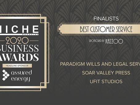 We're Finalists!