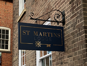 Projecting sign - st martins lodge.png