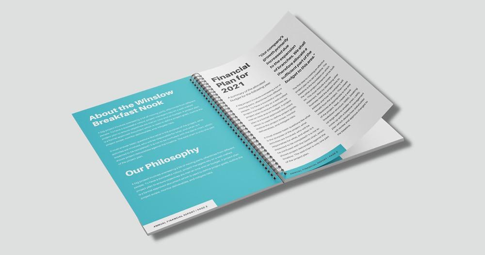 Wire Bound Brochure