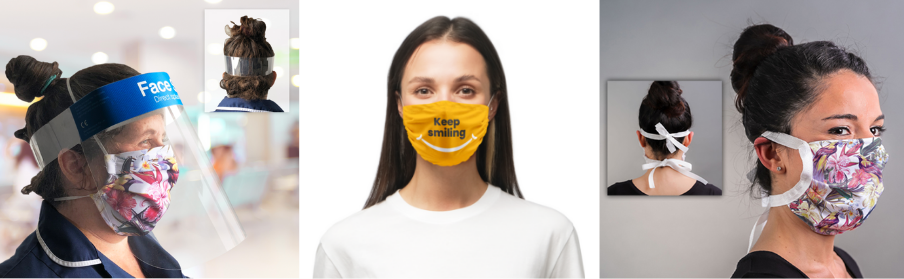 Branded Face Masks and Face Shields