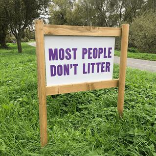 Dibond Signs for the Rolleston Estate