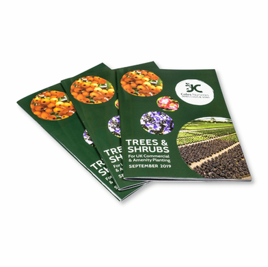 Saddle Stitched Brochures for Coles Nurseries.